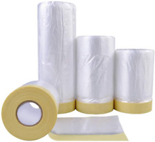 Tape and Drape, Assorted Masking Paper for Automotive Painting Covering 3 Size