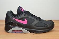 "NEW Nike Air Max 180 ""Blink"" Black Pink Wolf Grey Blast Size 11 AQ9974-001"