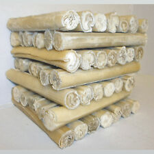 "Rawhide Dog Chews Hide Cigar Rolls 5"" x 15mm Treats Chew Packs 5 10 15 20 25 50"