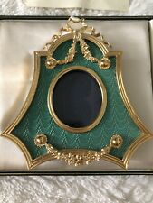 Kitney & Co Faberge Bell Shape Picture Frame New In Box Museum Company England