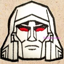 Megatron Face Patch Transformers Generation 1 Decepticons Autobots Embroidered