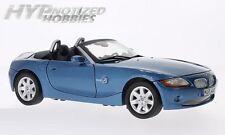 MOTORMAX 1:18 BMW Z4 DIE-CAST BLUE 73144BLMT