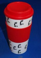 Cincinnati Bearcats 16 Oz Plastic Tumbler Travel Cup Hot/Cold Coffee Mug Banded
