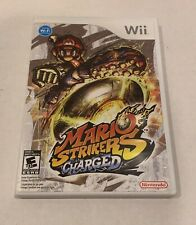 Mario Strikers Charged (Nintendo Wii, 2007) Complete In Case CIB Excellent