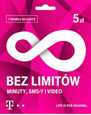 T-Mobile Poland Prepaid Polish SIM Card Pay As You Go 3in1