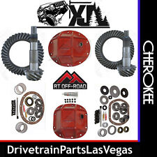 Jeep Cherokee XJ Re Gear Set Package Ring Pinions Master Kits HD Covers 4.88