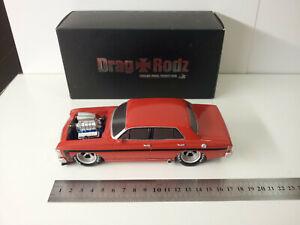 Drag Rodz - Wild XW - Red Flame - Cavalier Model Productions - Polystone 17/1000