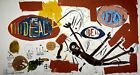 Jean-Michel Basquiat, Victor (IDEAL), Plate Signed Lithograph