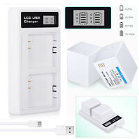 2x 2440mAh Rechargeable Battery For Arlo Pro, Arlo Pro 2 Camera + Dual Charger