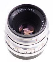 Carl Zeiss Tessar 50 mm f 2,8 / 12 Blades / M42  / Q1 / SN 4855967 / Alu / 609