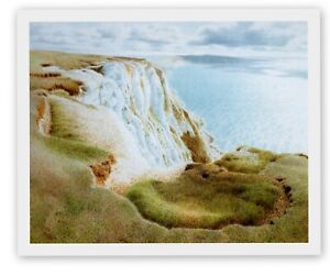 TENNYSON DOWN ISLE OF WIGHT CHARMING SEASCAPE SCENE MOUNTED PRINT NOT FRAMED