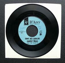 "7"" Charlie Wiggs - Shiny Red Cadillac - US D'Arcy Rockabilly"