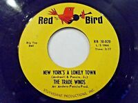 The Trade Winds New York's A Lonely Town / Club Seventeen 45 Vinyl Record