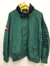 Vintage Tommy Hilfiger 1990 Mens Windbreaker Spellout Jacket Coat Large Blogger
