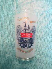 Vintage Rare Kentucky Derby Glass Churchill Downs Mint 1968