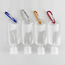 5-20pcs Refillable Bottle 50ml Travel Liquid Sanitizer Containers Empty Bottles