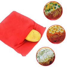 Kartoffeltasche Dampfgarer Kartoffel Bag Mikrowellenbeutel Mikrowelle Beutel Rot