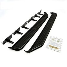 LAND ROVER DISCOVERY 3 & 4 NEW OE QUALITY GLOSS BLACK SIDE STEPS, RUNNING BOARDS