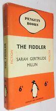 SARAH GERTRUDE MILLIN: THE FIDDLER, Penguin 1st 1937, no.109 in dustjacket