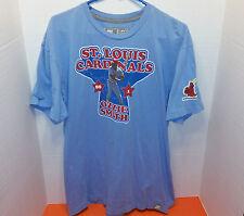 Nike Ozzie Smith St. Louis Cardinals MLB Baseball T-shirt - Size M Medium *EUC*