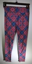 LuLaRoe Unicorn Leggings Blue Red Black Pink Tie Dye One Size