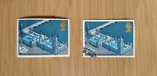 Complete used & mint GB stamp set - 1975 62nd Inter-Parliamentary Conference