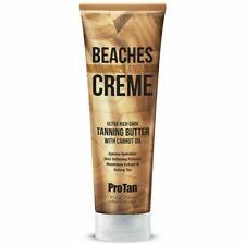 Brand New Dark Tanning Sunbed Lotion Beaches & Cream Butter & Carot OIL + GIFT