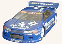 1:10 RC Clear Lexan Body Nissan GTR R32 200mm Nitro or Electric Colt