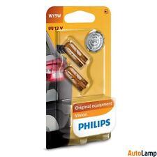 PHILIPS Vision WY5W 12V 5W W2,1x9,5d Conventional turn signal light 2 bulbs