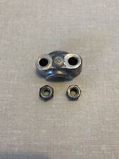 Honda S90, Super 90 fork/axel cap with nuts