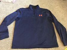 Under Armour Large Blue 1/4 Zip Shirt