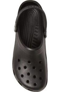 CROCS Classic Clog ~ BLACK ~ Women's Size 10 ~ Men's Size 8