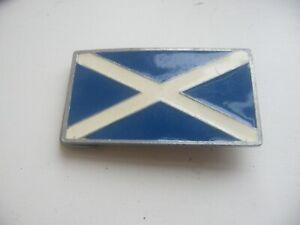 Ultimate Belt Buckle No. UL204 - 1995 - Scottish Flag