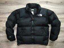 90 S The North Face Nuptse entreposer Hood 700 Down Filled homme doudoune M