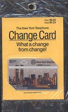 U.S.A. CONFEZIONE SIGILLATA THE NEY YORK TELEPHONE $ 5,25 REPLACEMENT CARD