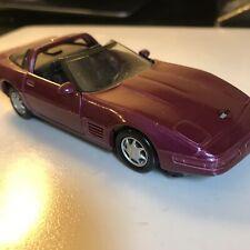 Maisto 1/38 Chevy Corvette ZR-1 Purple Coupe 1/38 Scale