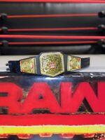 WWE Mattel Elite Figure Belt United Kingdom UK Championship - RARE *for figures