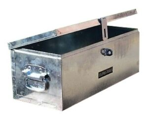 263 US PRO JOB SITE BOX SAFE TACK CHEST TOOL BOX  VAN TRUCK SECURITY GALVANIZED