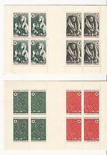 France: Scott B461a, B417A, booklet red cross type carnet. FR152