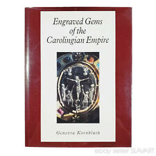 BOOK Engraved Gems of the Carolingian Empire ancient Roman jewelry cameo art old