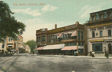 Taunton MA * City Square Woolworth 5&10 Store ca. 1908 *Post Card for Sale Sign
