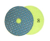 """4"""" Shine-Plus Dry Diamond Polishing Pad - 50 Grit"""