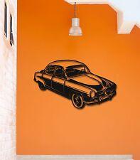 Wall Stickers Vinyl Decal Retro Vintage Old Car Garage Decor (ig808)