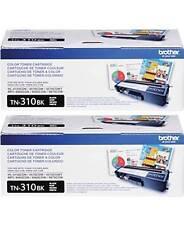 GENUINE BROTHER TN310BK TONER SET (2-PACK) MFC-9460CDN, MFC-9560CDW, MFC-9970CDW