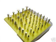 "54 PC Rotary Tool Diamond Burr Set 1/8"" ( D2 ) ( For Rotary Power Tools )"