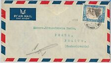 64472  - ADEN - POSTAL HISTORY - AIRMAIL COVER to CZECHOSLOVAKIA !!  1960