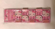 Japan Sanrio Hello Kitty Binder Clip Paper Clip Set of 5 Brand New