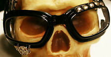 Post-Apocalyptic Halloween Costume ~ Black Cyclist Goggles ~ The Silver Cycler