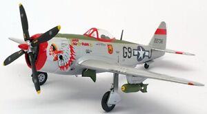 Franklin Mint 1/48 Scale Aircraft B11B295 - P-47 Thunderbolt USAAF Testa Indiano