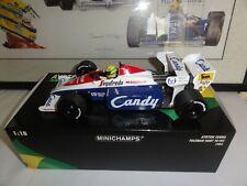 F1 MINICHAMPS 1:18 AYRTON SENNA TOLEMAN HART TG184 1984 MODEL CAR